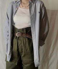 【USED】 Ralph Lauren Stripe Shirt 12/210520-022
