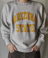 【USED】 90's USA Champion Reverse Weave Sweat ARIZONA / 210127-044