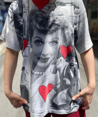 【Used】Vintage T-Shirt I Love Lucy  /200531-055
