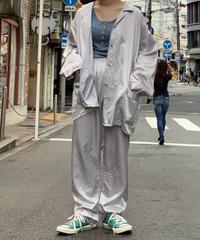 【Used】 L/S   Dot Pajama  Shirt  /200911-003