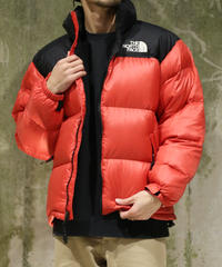 [Used] THE NORTH FACE Nuptse Jacket (Black/Red)(NF4)