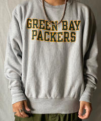 【USED】 90's Mexico Champion Reverse Weave Sweat GREEN BAY PACKERS/210516-041