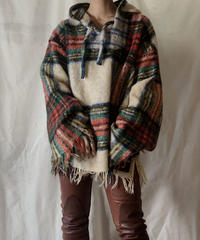 【RE;CIRCLE】 Remake Mohair Mexican Parker ① /210203-031