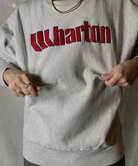 【USED】 80's USA Champion Reverse Weave Sweat Wharton / 210127-056