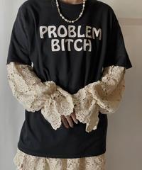 【USED】 S/S T-shirt PROBLEM BITCH/210801-044