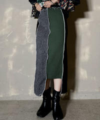 【RE;CIRCLE】 Mellow Rib Knit  Long Skirt ②