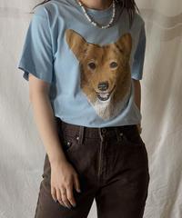 【USED】S/S T-shirt DOG③ /210604-007