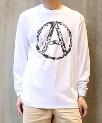[montage] 森別注  Anarchy LS T-shirt (White)