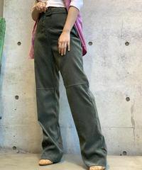 【Used】Flare Cut Back Pants / 200813-005