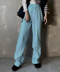 【USED】 Poly Flared Pants ② / 201204-004