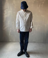 """【THE UNION】THE FABRIC """"B.D. PULLOVER SHIRTS/WHITE"""