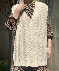 【Used】Knit Vest  / 200922-008