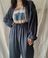 【USED】 Silk L/S Shirt/210617-002