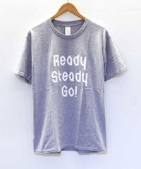 [READY STEADY GO] S/S TEE (GRAY)