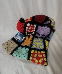 【RE;CIRCLE】 Granny Knit Bag① /210404-012