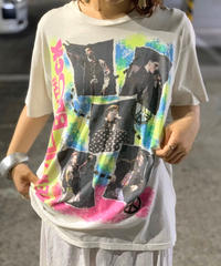 【Used】New Kids On The Block  T-Shirt White