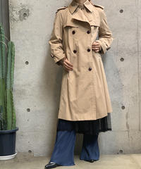 【Used】Long Trench Coat /200922-009