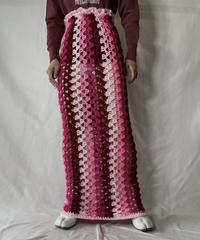 【RE;CIRCLE】 RE Granny Knit Long Skirt⑩/211014-030