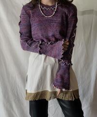 【RE;CIRCLE】 Mellow Knit Sweater②/210217-024
