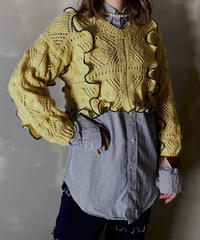 【RE;CIRCLE】 Mellow Shaker Knit ⑤ /201202-006