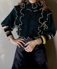 【RE;CIRCLE】 Mellow Shaker Knit ⑦ /201202-008