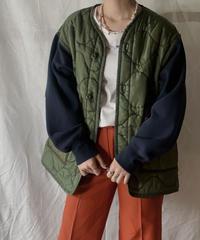 【RE;CIRCLE】Remake Sweat Sleeve Liner Jacket/210226-017