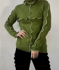 【RE;CIRCLE】 Mellow Rib Knit Sweater ② /210120-011