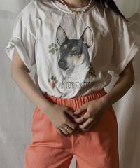 【USED】S/S T-shirt DOG 12/210604-048