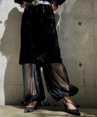 【Used】Velor  Medium skirt/ 200928^001