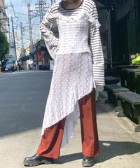 【Used】N/S Diagonal  Long Dress /200828-023