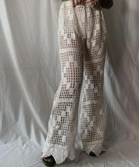 【RE;CIRCLE】 RE Crochet Pants③/ 210630-013
