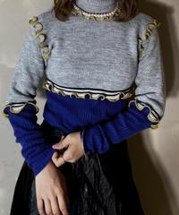 【RE;CIRCLE】L/S Mellow Rib Knit Tops ①