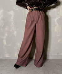 【USED】Flared Pants ② / 201114-025