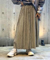 【Used】Gingham Check Skirt