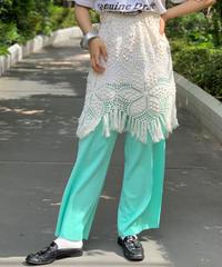 【RE;CIRCLE】Vintage Crochet Lace Mini Skirt
