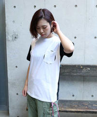 [ORIGINAL] POCKET S/S TEE (WHITE/BLACK)
