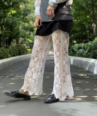 【RE;CIRCLE】Crochet Lace  Pants