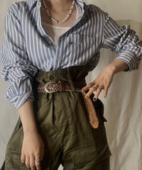 【USED】 Ralph Lauren Stripe Shirt 11/210520-021