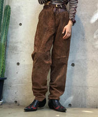 【Used】Leather  Pants / 201001-020