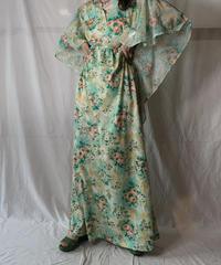 【USED】 Flower Patterned N/S Dress/210630-033