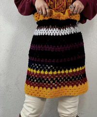 【RE;CIRCLE】 Granny Knit Mini Skirt ② /210125-005