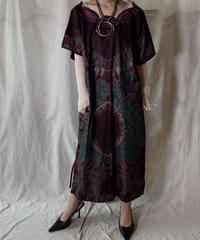 【USED】 African Batik One-piece③/210428-005