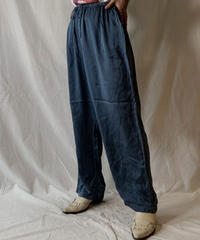 【USED】 Satin Easy Pants④/ 210617-001