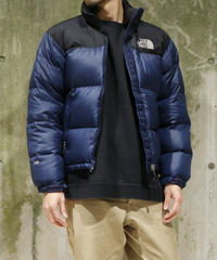 [Used] THE NORTH FACE  Nuptse Jacket (Black/Navy)(NF8)