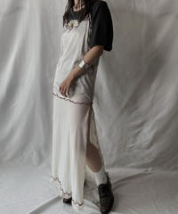 【RE;CIRCLE】RE Mellow Slip Camisole One-piece③/210805-008