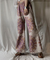 【RE;CIRCLE】 RE Antique Curtain Flare Pants⑥/ 210703-008