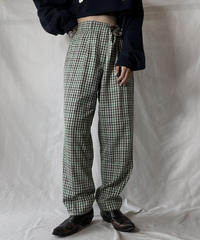 【USED】 Plaid Pants/211014-052