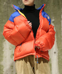 [Used] THE NORTH FACE  Nuptse Jacket (Red/Blue)(NF2)