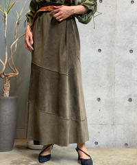 【Used】 Tiered Long  Skirt  /200901-037