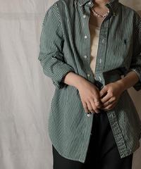 【USED】 Ralph Lauren Stripe Shirt 19/210520-036